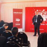 Deputy Ambassador Raul De Luzenberger (European Commission) addressing the Trailblazers & guests
